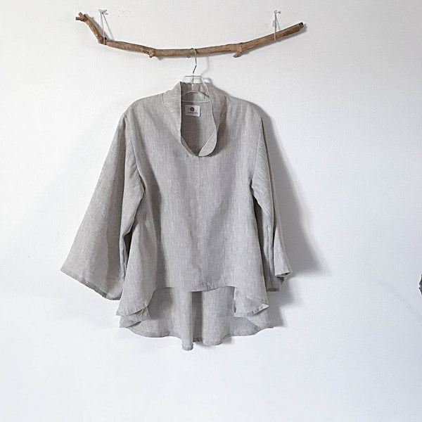 pebble linen blouse