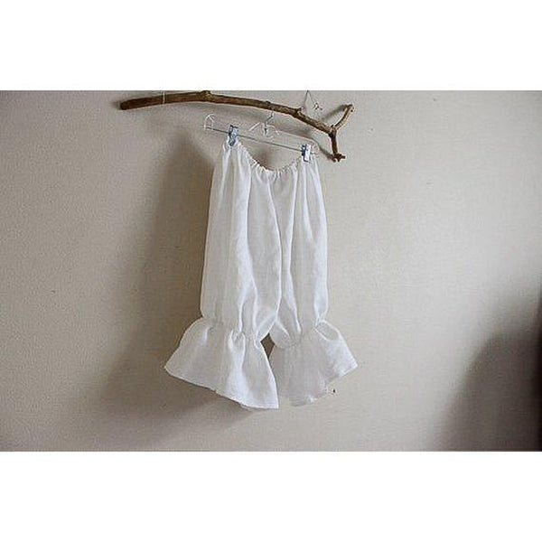 linen bloomers made to order-linen clothing by anny