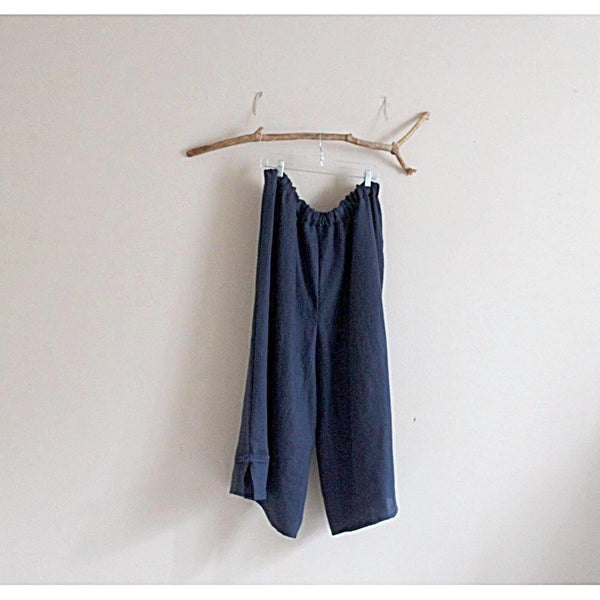 custom plus size heavy linen asian peasant pants