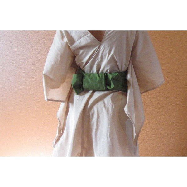 cotton obi sash made to order - linen clothing by anny