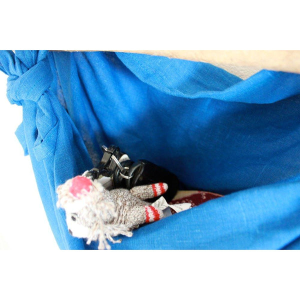 eco friendly linen furoshiki wrap bag