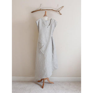 plus size calla lily asymmetrical linen dress