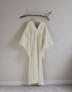 custom eco wedding dress linen flying swallow dress