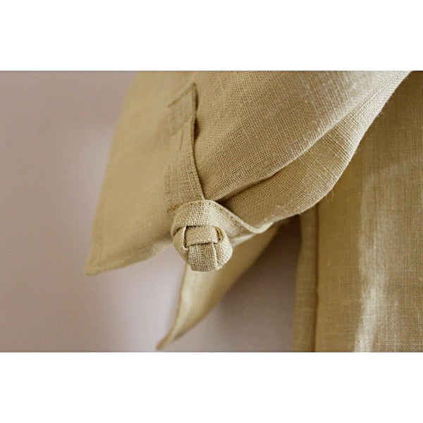 custom frog toggle linen dress-linen clothing by anny