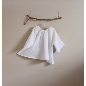 custom comfy pleated linen top - linen clothing by anny