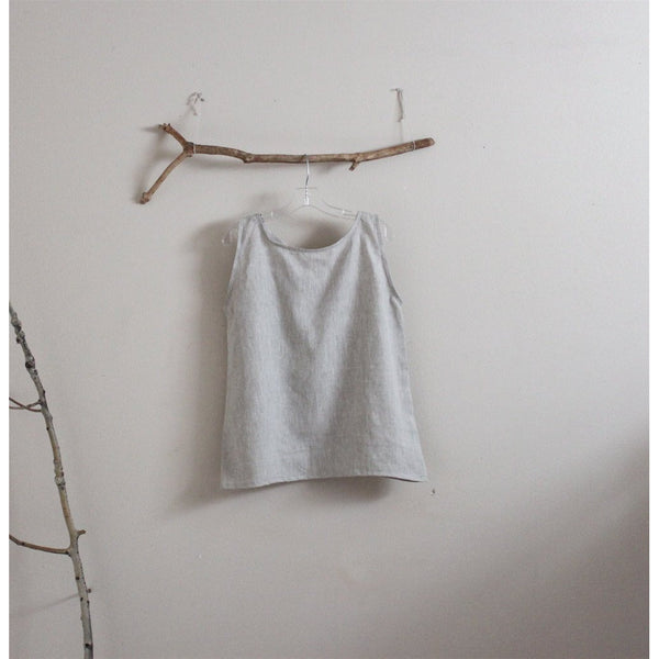 light weight linen camisole top made to order