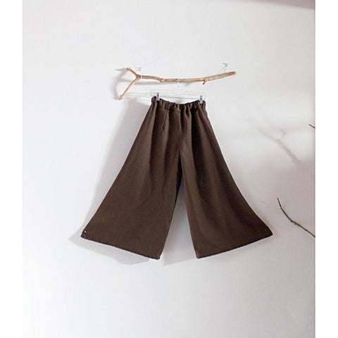 custom wide leg linen pants-linen clothing by anny