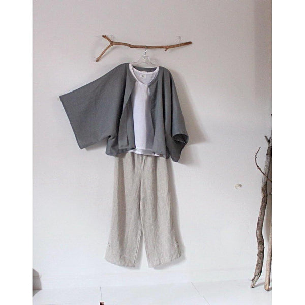 made to order minimalist linen jacket choose your color