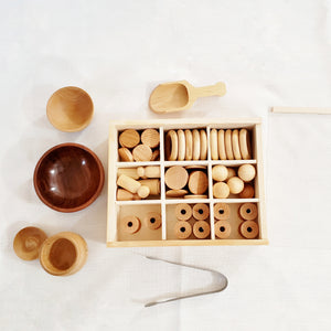 73 Piece Loose Parts Tinker Tray