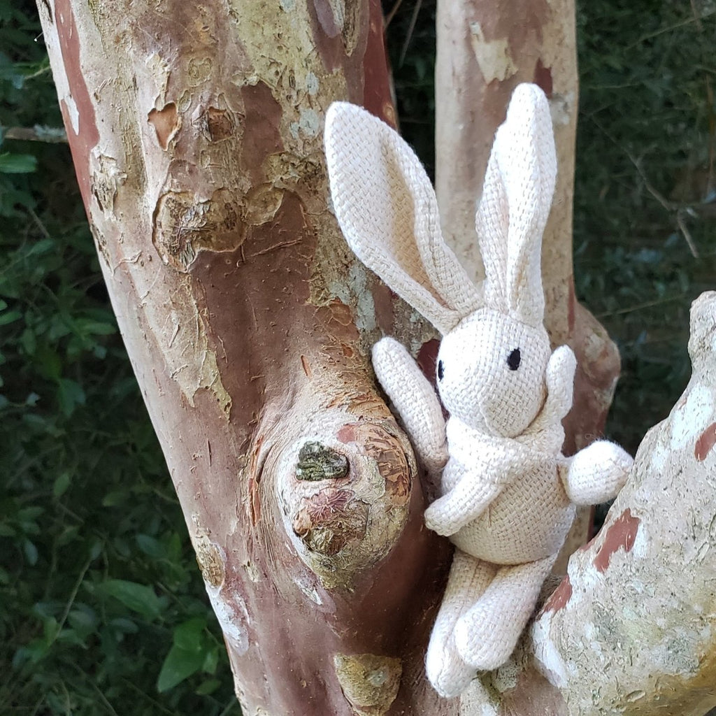 7 Inch Cotton Rabbit - Perfect for Little Hands - Imaginations Unbound