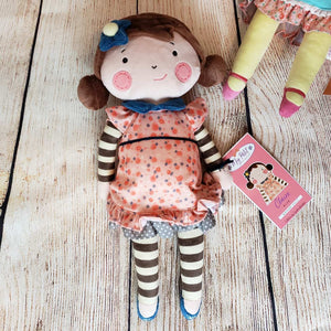 Claire Elise Girl Plush Doll