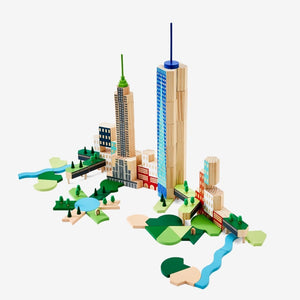 Blockitecture New Your City Big Apple Set - Imaginations Unbound