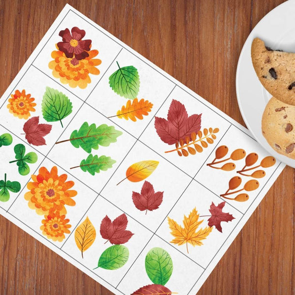Fall Matching Game Freebie - Imaginations Unbound