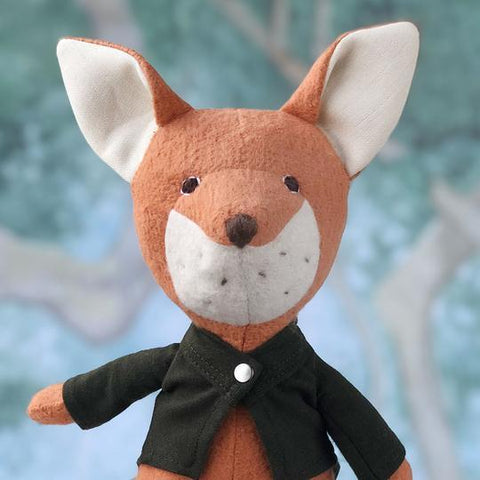 Owen Fox Organic Stuffed Animal - Imaginations Unbound