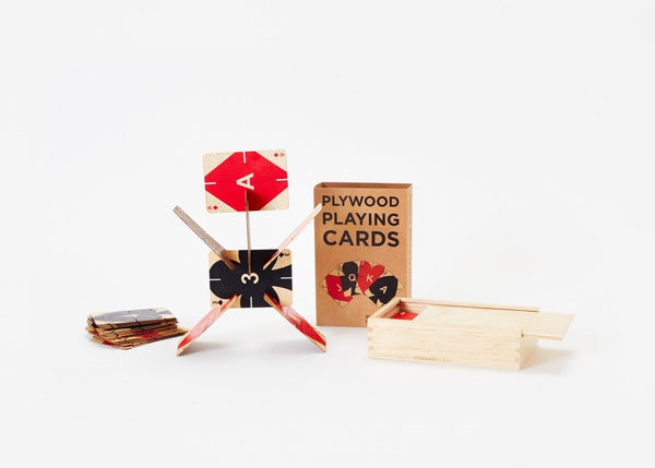 Plywood Playing Cards - Imaginations Unbound