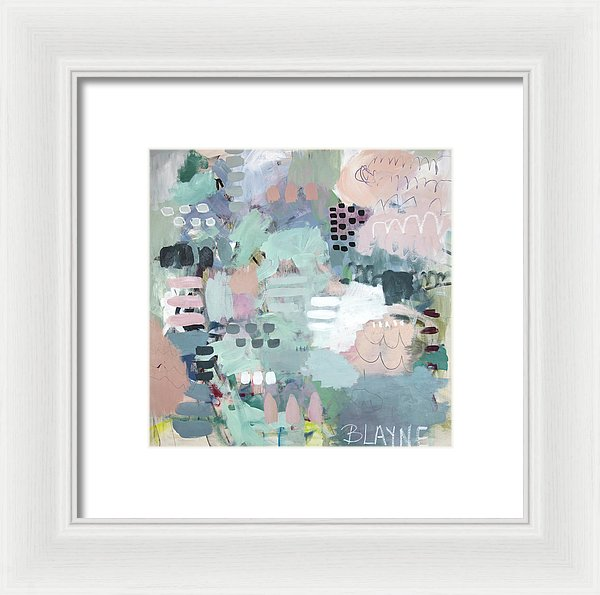 Always A Lady - Framed Print