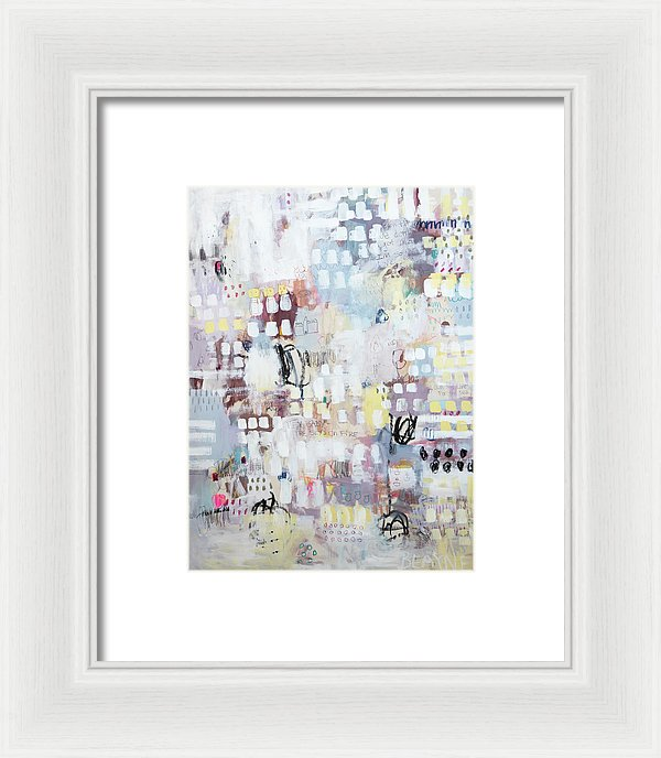 August Sunshine Magnaficent And All Shining Through - Framed Print