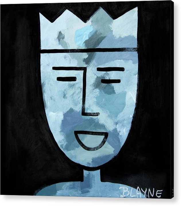 Courage King #5 - Acrylic Print