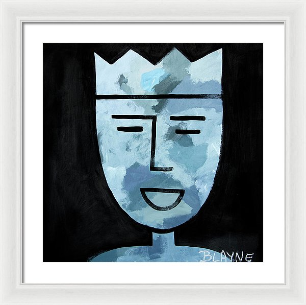 Courage King #5 - Framed Print