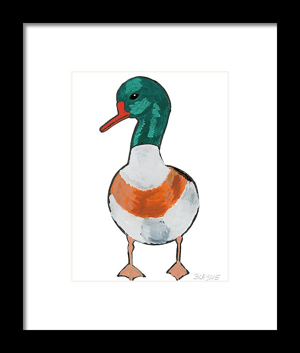 Duck - Framed Print