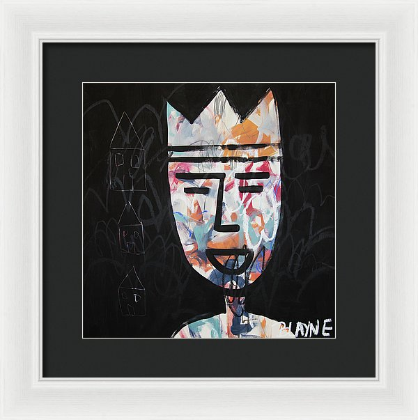 Happiest King - Framed Print