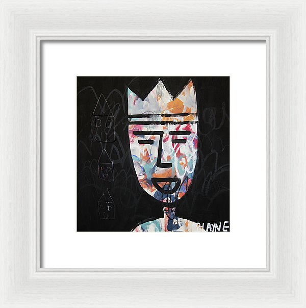 Happy King - Framed Print