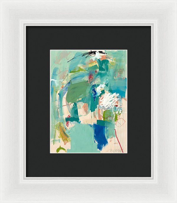 Into The Blue - Framed Print