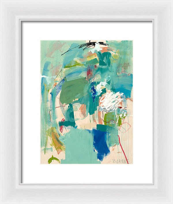 Into The Wild Blue Yonder - Framed Print