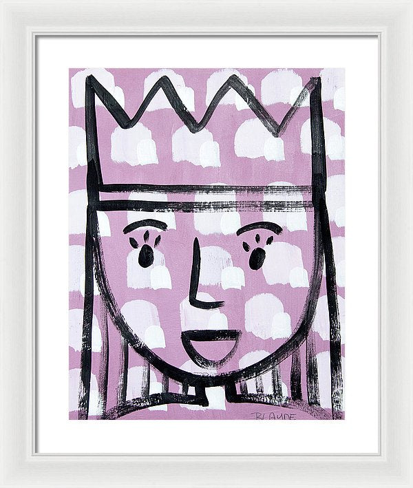 Little Queen - Framed Print