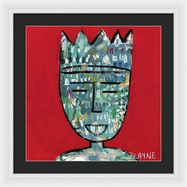 Red King - Framed Print