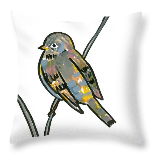 Sparrow - Throw Pillow