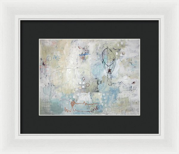 The Plaza - Framed Print