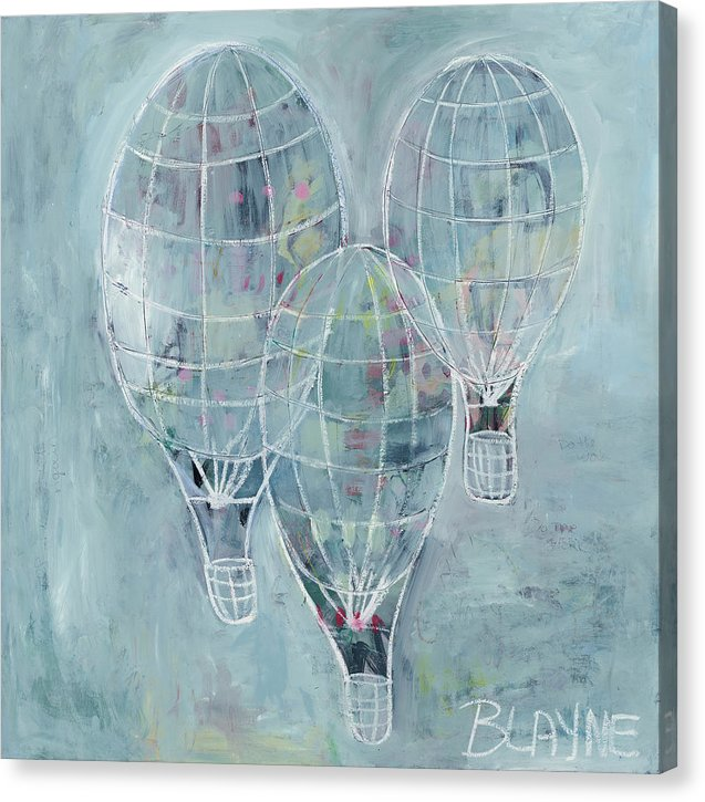 Three Balloons - Canvas Print
