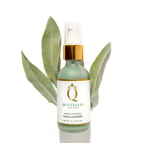 Quetzalli Skin Care Cleanser Inspired by the Ancient Aztec & Mayan empires. Non Toxic Organic Vegan Cruelty Free