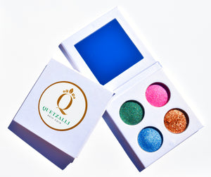 Quetzalli Skin Care Non Toxic Eye Shadows  Inspired by the Ancient Aztec & Mayan empires. Organic Vegan Cruelty Free