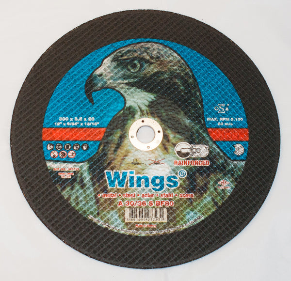 Wings 300/20 Metal Cutting Disc