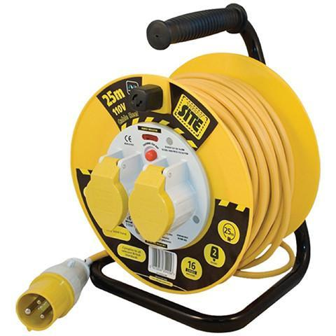 110v Cable Reel - Orbit - Site Electrical - Lapwing UK