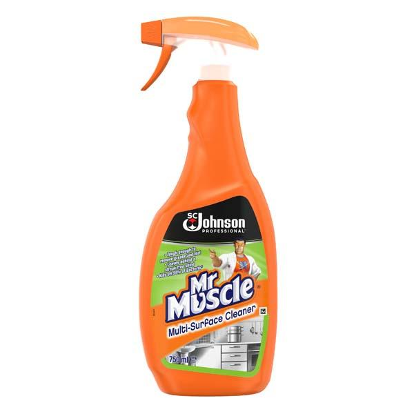Mr Muscle Multi-Surface Cleaner - Orbit - Janitorial Supplies - Lapwing UK