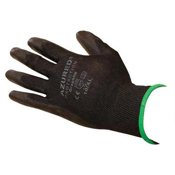 Graphite PU Gloves Black
