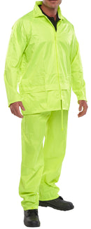 Yellow Waterproof Jacket & Trouser Set