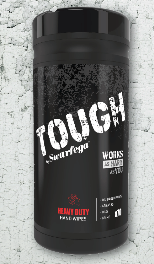 Swarfega Tough Wipes - 6 x 70 Wipes