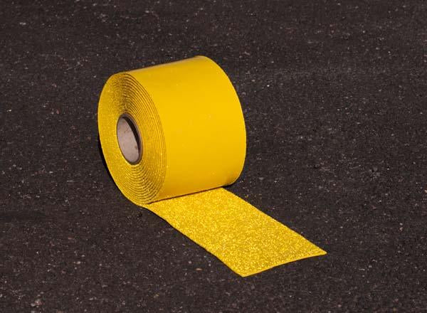 100mm Wide Thermo Plastic Road Markings