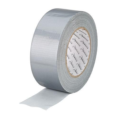 Silver Cloth Duct Tape 75mm - Orbit - Tapes - Lapwing UK