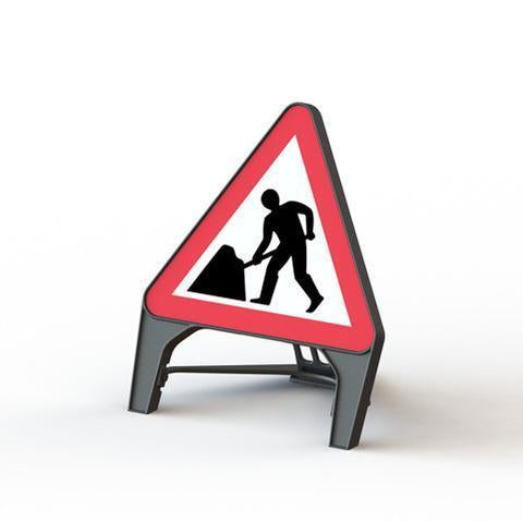 Plastic Road Sign - Men At Work