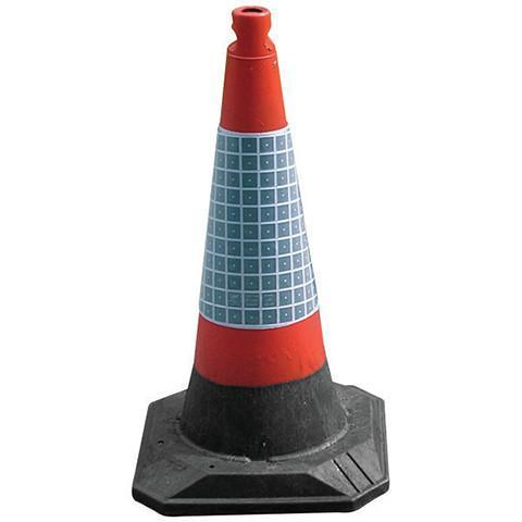 1 Part 750mm Highway Cone with reflective sleeve
