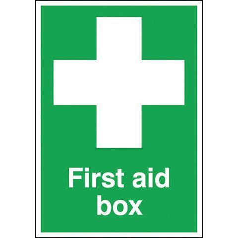 Safety Signs First Aid Box - Orbit - Safety Signage - Lapwing UK