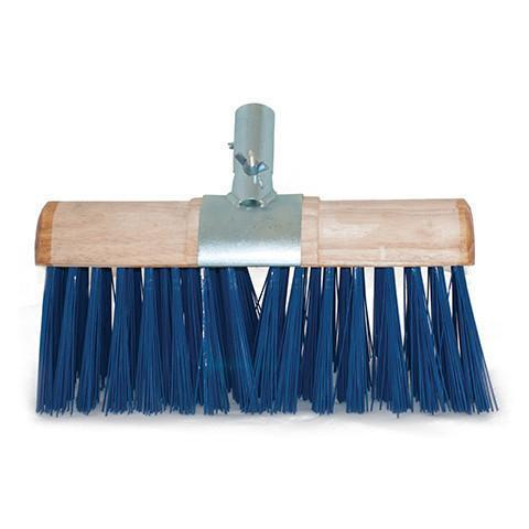 PVC Scavenger Broom With Metal Clasp