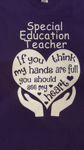 Special Education Teacher Shirt
