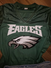 Philadelphia Eagles Glitter Jersey