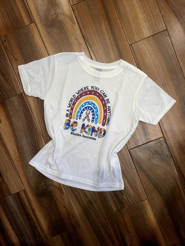 Autism Awareness Rainbow Tee